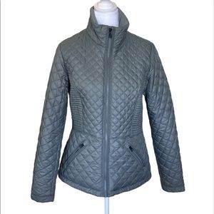 The North Face Quilted Puffer Down Jacket MED grey